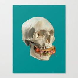 Death By Taco Canvas Print