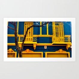 La Boca II Art Print