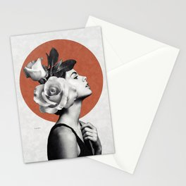 Beauty & Roses Stationery Cards