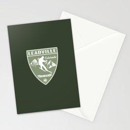 Ski Leadville Colorado Stationery Cards