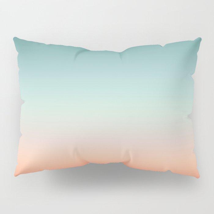 Color gradient background - fading sunset sky colors Pillow Sham
