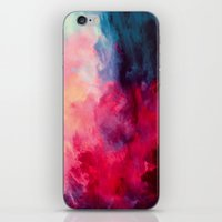 alice x zhang iPhone & iPod Skins featuring Reassurance by Caleb Troy