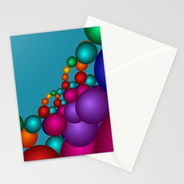 fractal geometry -125- Stationery Cards