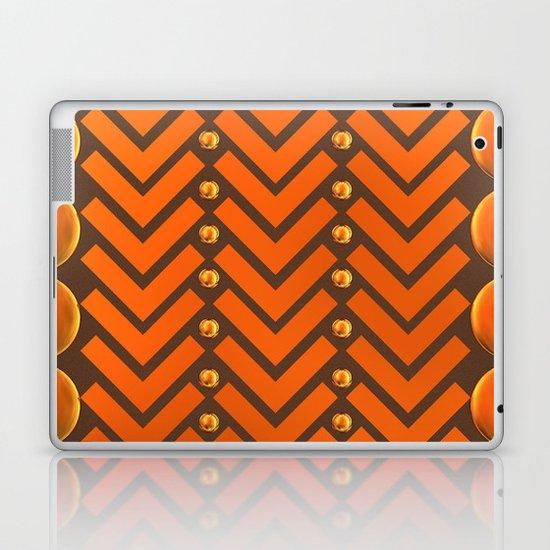 Gold Patterns Laptop & iPad Skin