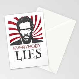 Dr. House M.D. - Hugh Laurie Stationery Cards