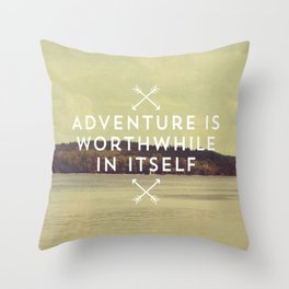 Worthwhile Throw Pillow