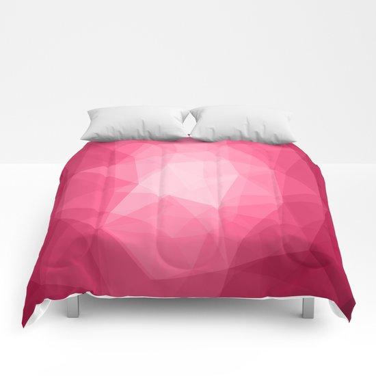 Geometric Polygonal Pattern 02 Comforters