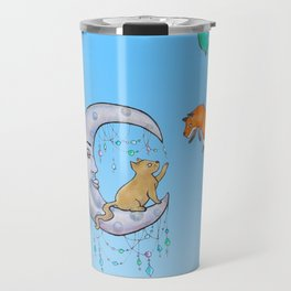 The fox and the cat Travel Mug