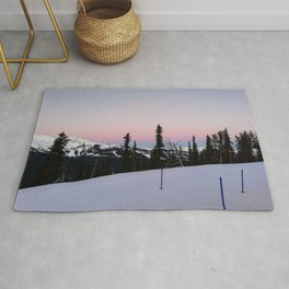 Early morning serenity Rug