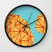detroit Wall Clocks featuring - detroit - by Magdalla Del Fresto