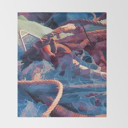 Fishermans Throw Blanket