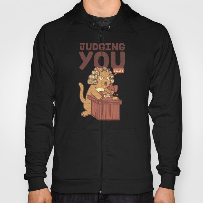 I'm Judging You Cat T-Shirt Hoody