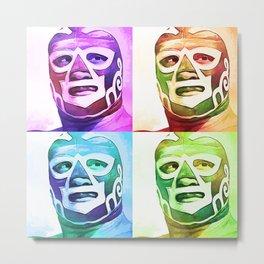 Wrestling fighter 2 Metal Print