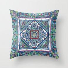Squaredala Throw Pillow
