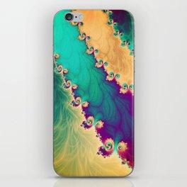 Coloured Smoke Trails iPhone Skin
