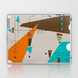 Mid-Century Rectangles Abstract Laptop & iPad Skin
