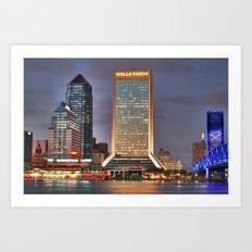 Jacksonville, Florida Art Print