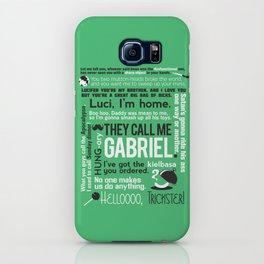 Supernatural - Gabriel Quotes iPhone Case