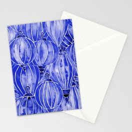 Vietnamese Lanterns – Navy Stationery Cards
