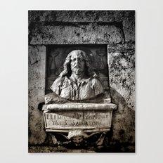 Roman Bust Canvas Print