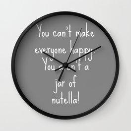 Nutella Wall Clock