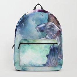 Watercolor Fish Backpack