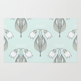 seamless pattern with many abstract dream   may-lily Rug