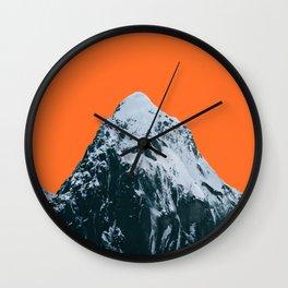MH Orange Wall Clock