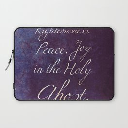 Joy in the Holy Ghost Laptop Sleeve