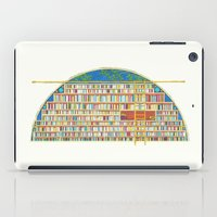 library iPad Cases featuring Dream Library by Jet McLeod