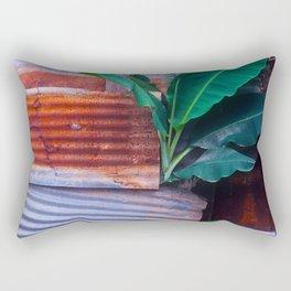 Behind The Back Yard Rectangular Pillow