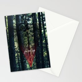 Trip Away Into the wild Stationery Cards
