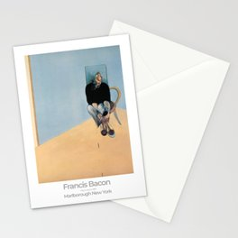 Francis Bacon Exhibition Art Poster 1984 - Study for Self-Portrait Stationery Cards