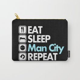 EAT SLEEP MAN CITY REPEAT Carry-All Pouch