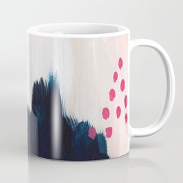 In the Sand Abstract Coffee Mug