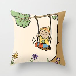 Swing. Throw Pillow