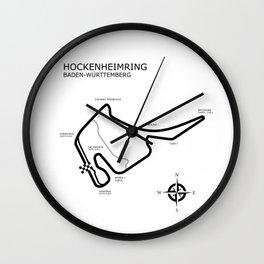 Hockenheimring Grand Prix Circuit Wall Clock