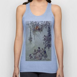 """""""The Fairies Ascent"""" by A. Duncan Carse Unisex Tank Top"""