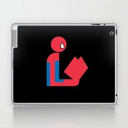 Gentleman Spider Reads Laptop & iPad Skin