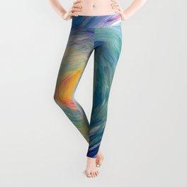 Blue Wave Leggings