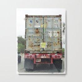 Daily Truck: 09/03/15 Metal Print