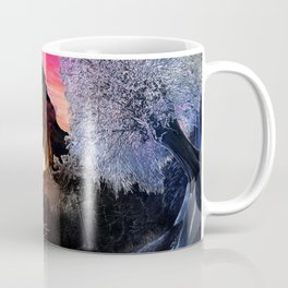X . The Wheel Tarot Card Illustration Coffee Mug