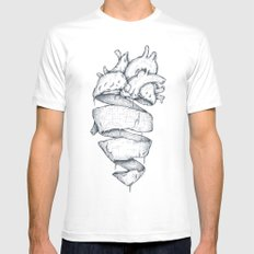 Heartbreaker Mens Fitted Tee White LARGE