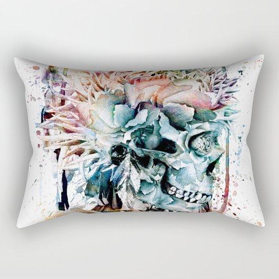SKULL N-II Rectangular Pillow