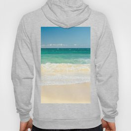 beach blue Hoody