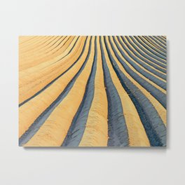 Potatoe Field in NRW Metal Print