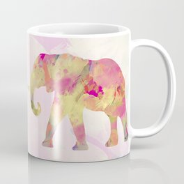 Abstract Elephant II Coffee Mug