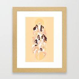 The 12 Greek Hôrai Framed Art Print
