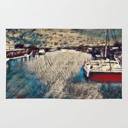 Fisherman's Wharf Rug