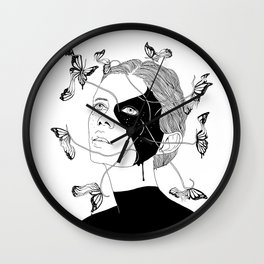 Figments I (Memories That Never Were) Wall Clock